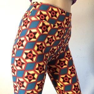 LuLaRoe Pants - Hey Cowgirl Lularoe Star One Size Leggings Skinny
